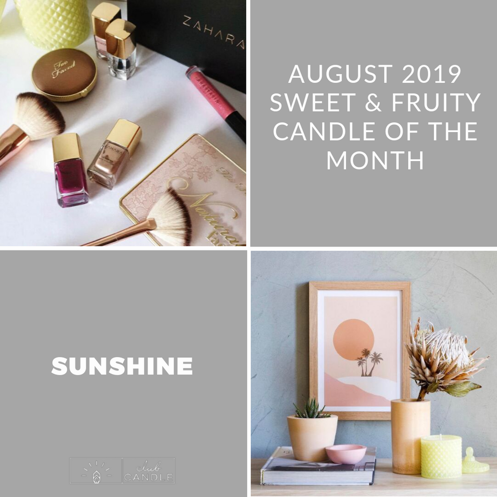 Candle of the Month – Sunshine