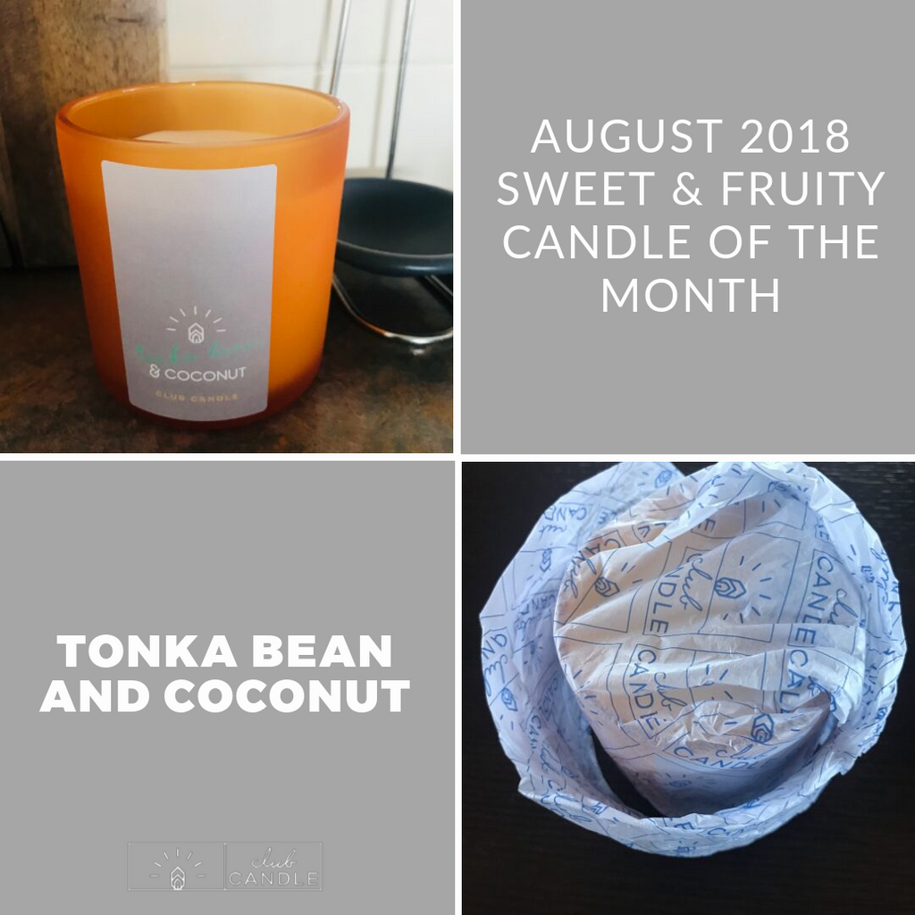 Candle of the Month – Tonka Bean and Coconut