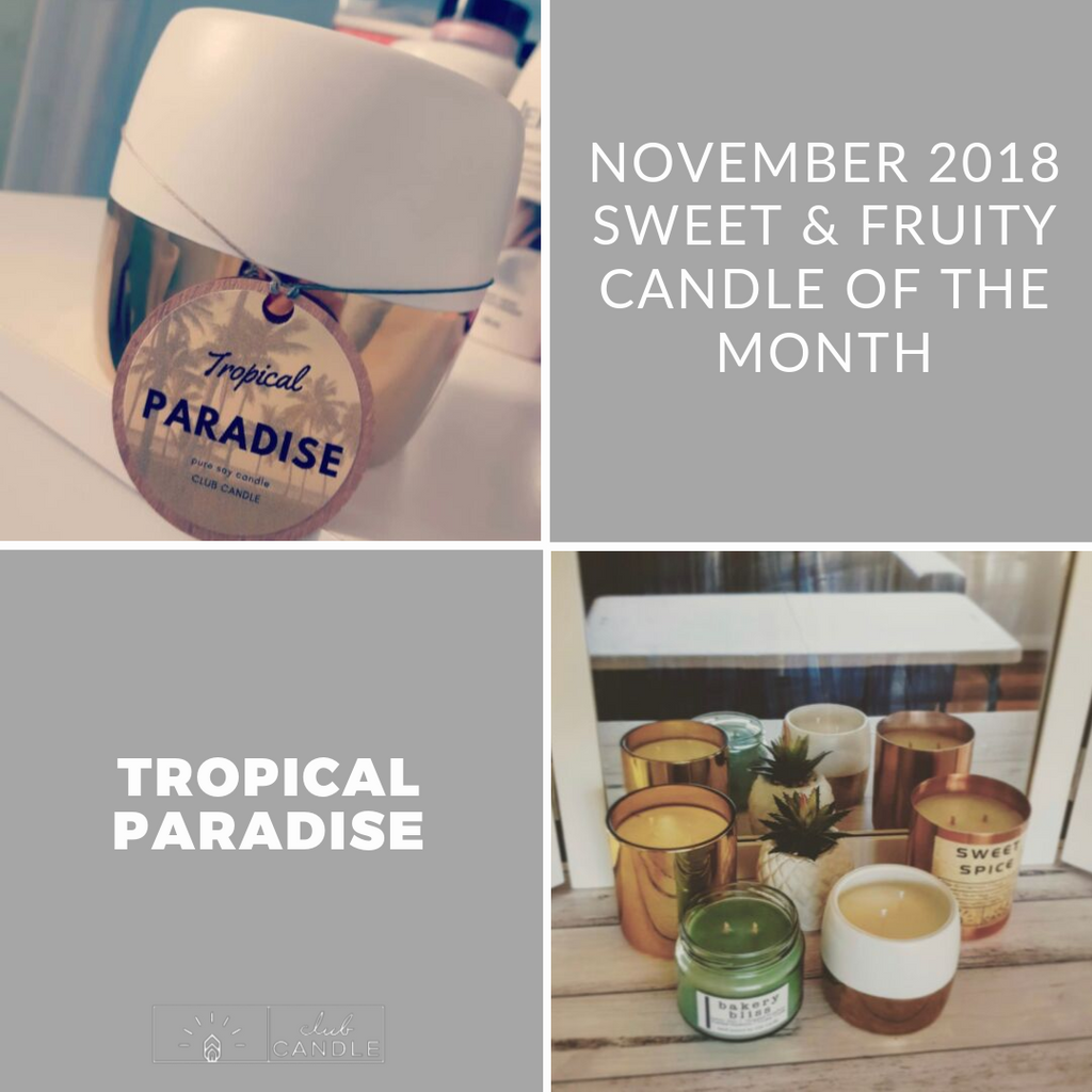 Candle of the Month – Tropical Paradise