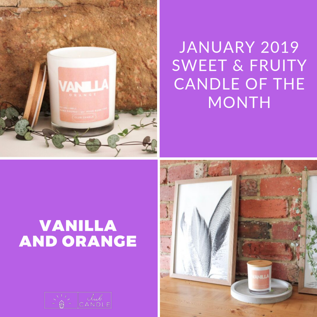 Candle of the Month – Vanilla and Orange
