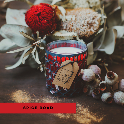 Spice Road Club Candle subscription box