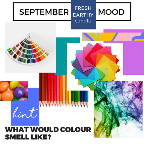 September 2020 Club Candle Fresh Earthy Mood Board