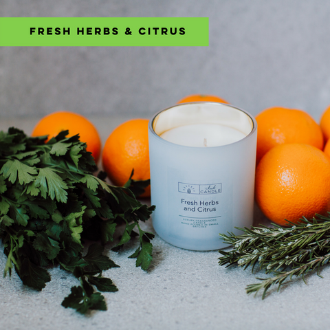 Club Candle Fresh Herbs and Citrus