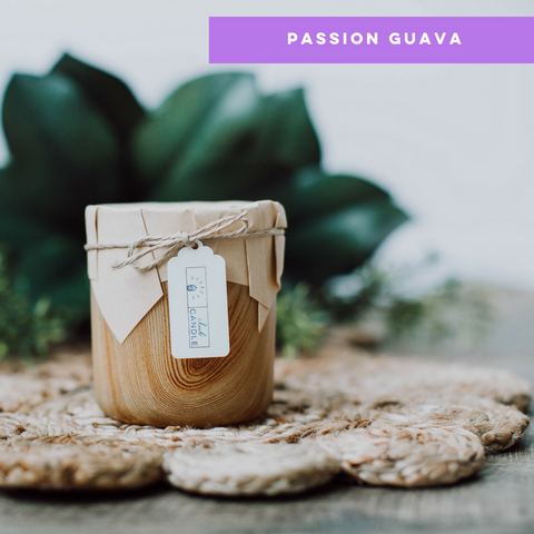 Club Candle of the month July 2017 Passion Guava