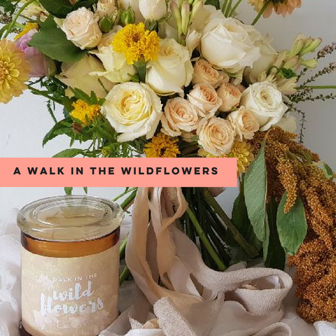 A Walk in the Wildflowers - Club Candle
