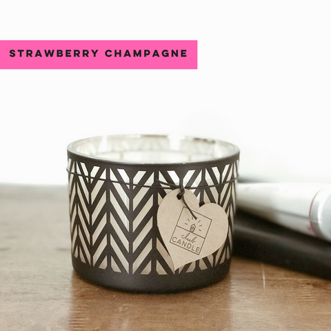 Strawberry Champagne - Club Candle