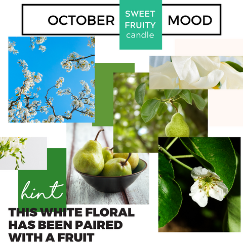 October Sweet / Fruity Moodboard