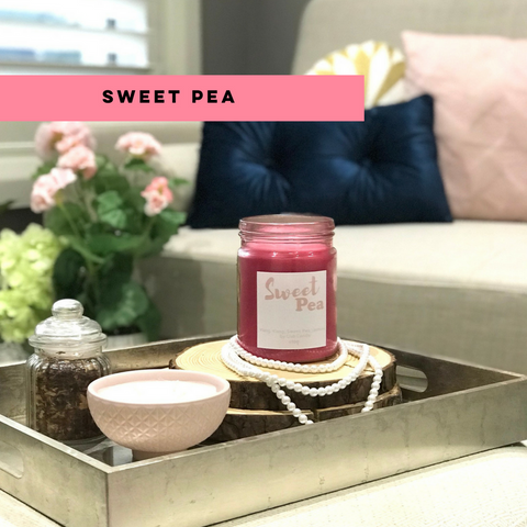 Candle of the month Sweet Pea