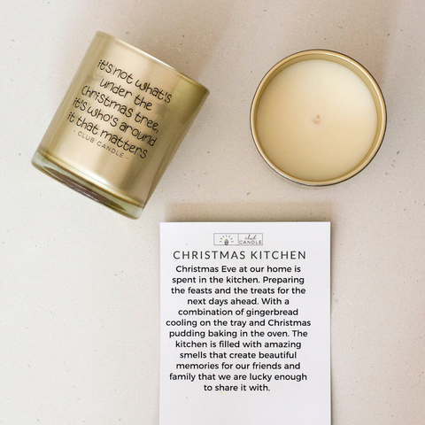 Club Candle of the month Christmas Kitchen