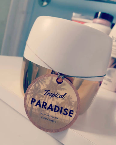 TROPICAL PARADISE CLUB CANDLE