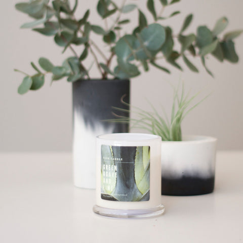 Green Agave and Lime Club Candle Australia