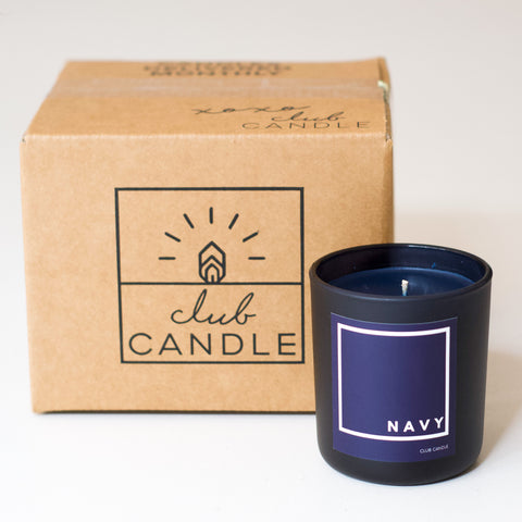 Candle of the Month – Navy Candle