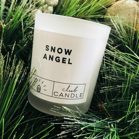 Snow Angel - Club Candle