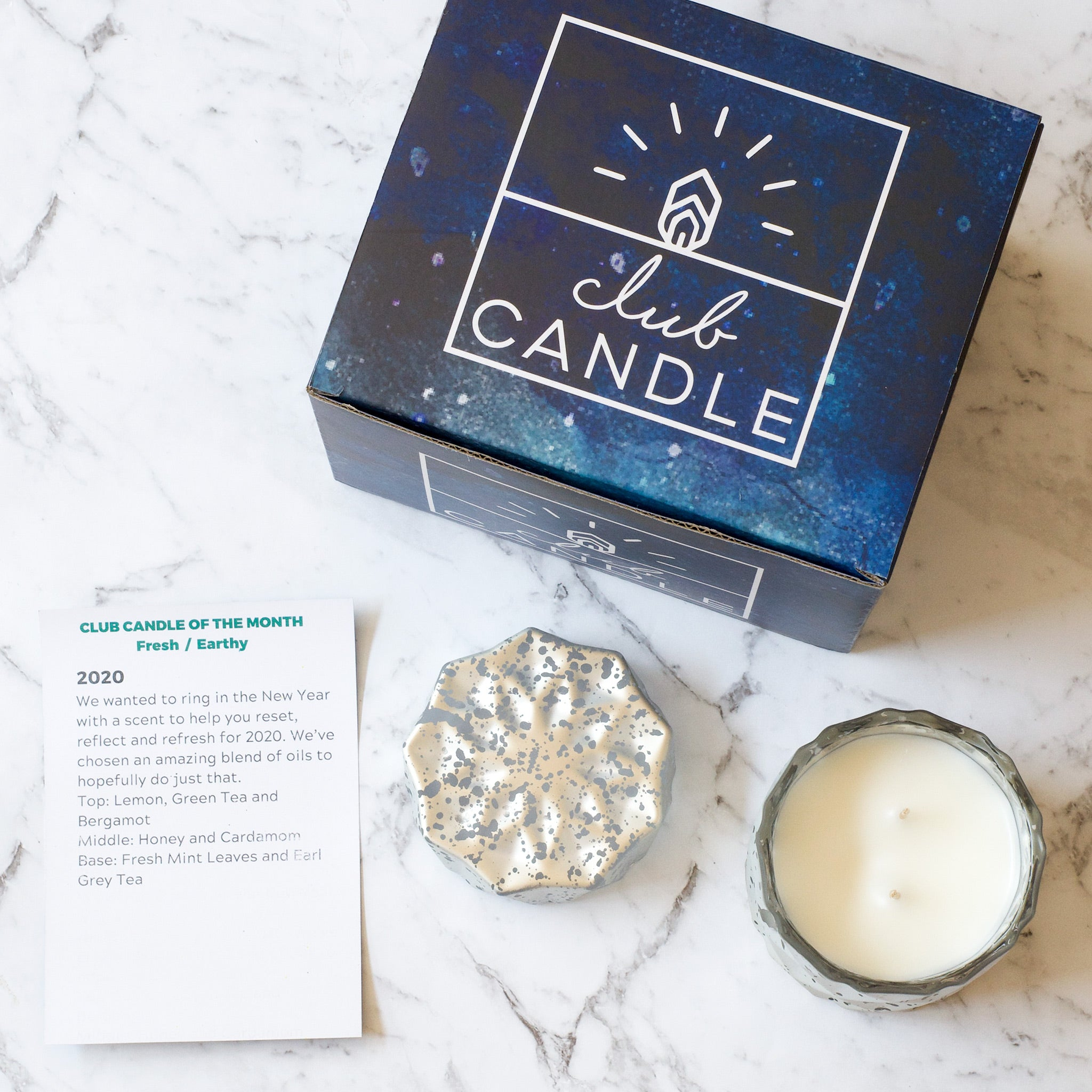 Fresh and Earthy Candle of the Month January 2020