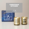 Christmas Kitchen Candle