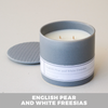 English Pear and White Freesias Candle