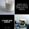 Lychee and Guava Candle
