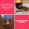 Pomegranate Splash Candle