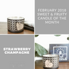 Strawberry Champagne Candle