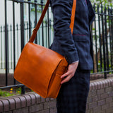 Buffalo_Leather_Messenger_Bag_Niche_Lane_Brown