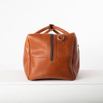 Men's holdall zip wide open