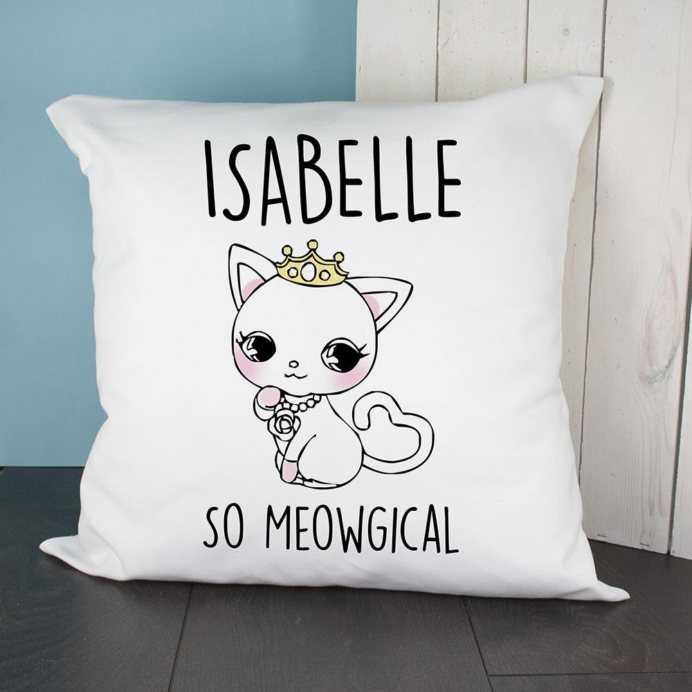 PERSONALISED SO MEOWGICAL CUSHION COVER - Lantern Space