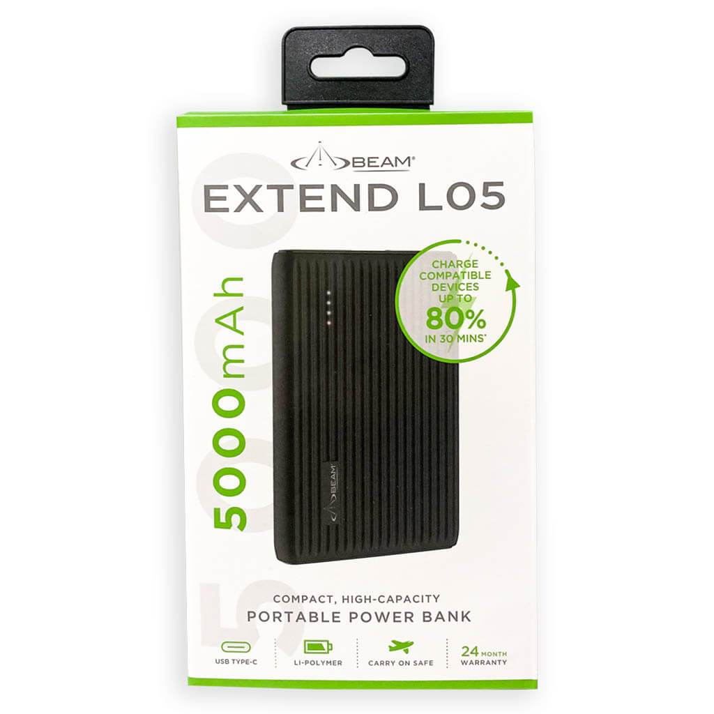 Extend l05 power bank 5000mAh