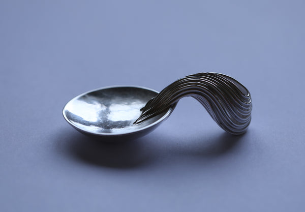 Silver Caddy Spoon U @2018