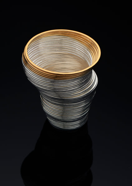 Silver Coiled Beaker - Award Winning