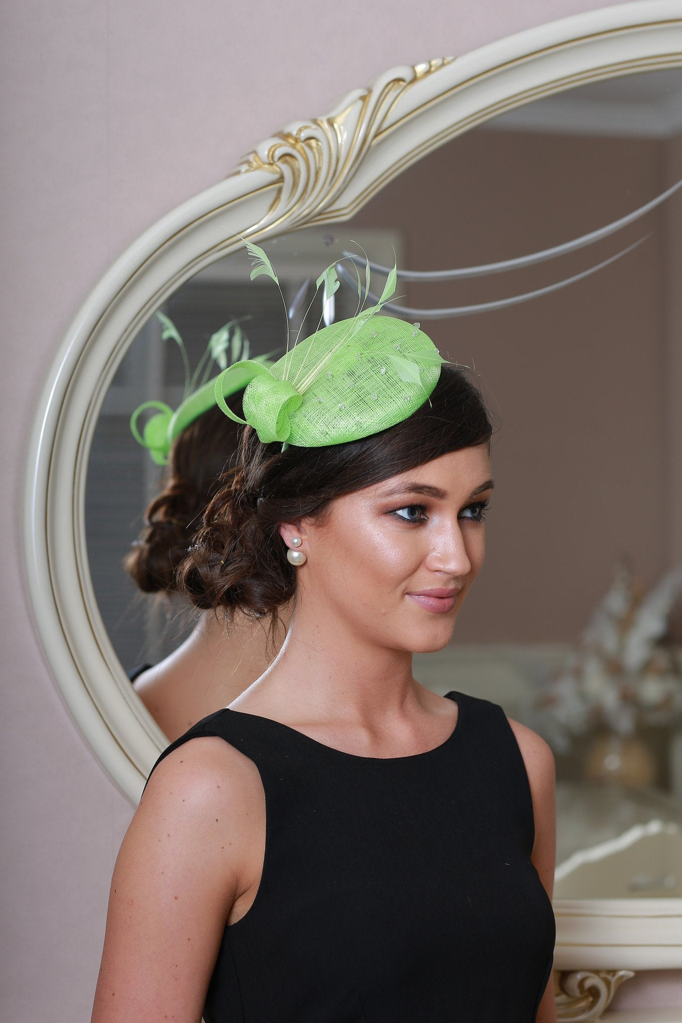 Amy apple fascinator - LadyVB   s.r.o - 2