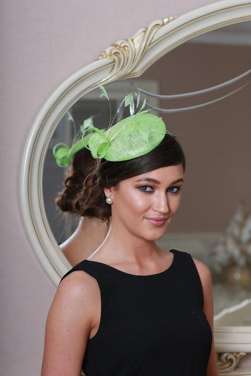Amy apple fascinator - LadyVB   s.r.o - 1