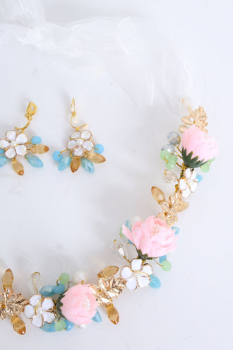 Emer Floral Hairband Set