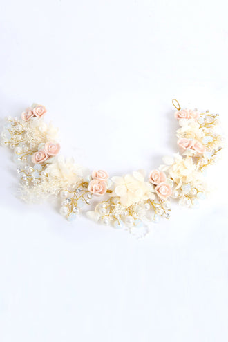 Grace Floral Hairband
