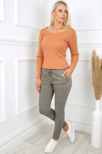 Donna Hazel Pure Cotton Top