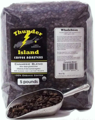 American Indian organic foods Thunder Island Coffee canarsie blend