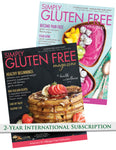 2 year international subscription to Simply Gluten Free