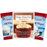 Simply Gluten Free Desserts Cookbook and 10 lbs Flour Special with FREE Shipping!