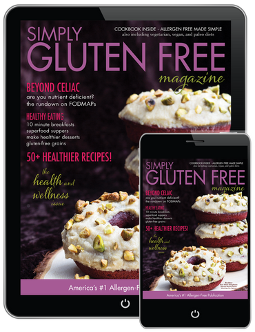 DIGITAL Simply Gluten Free magazine 1 Year Subscription