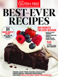 Simply Gluten Free Best-Ever Recipes