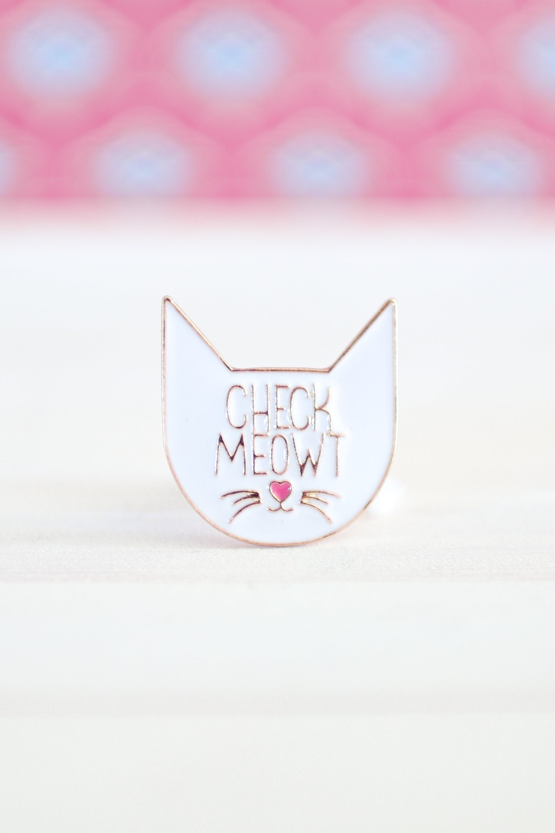 CHECK MEOWT PIN