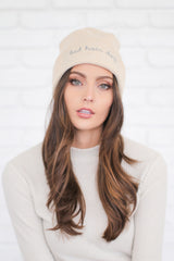 BAD HAIR DAY CREAM BEANIE
