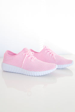 AVA SNEAKERS IN PINK