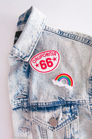 CALIFORNIA 66 PATCH