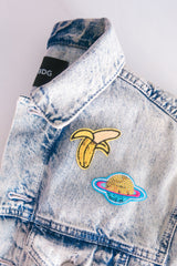 SEQUIN BANANA PATCH