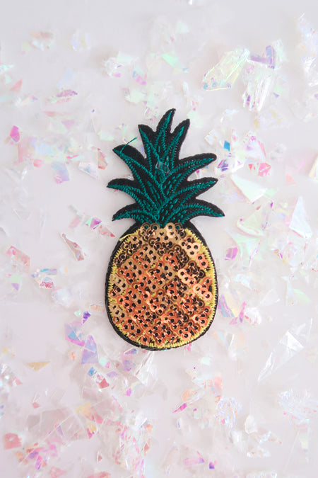 SEQUIN PINEAPPLE PATCH