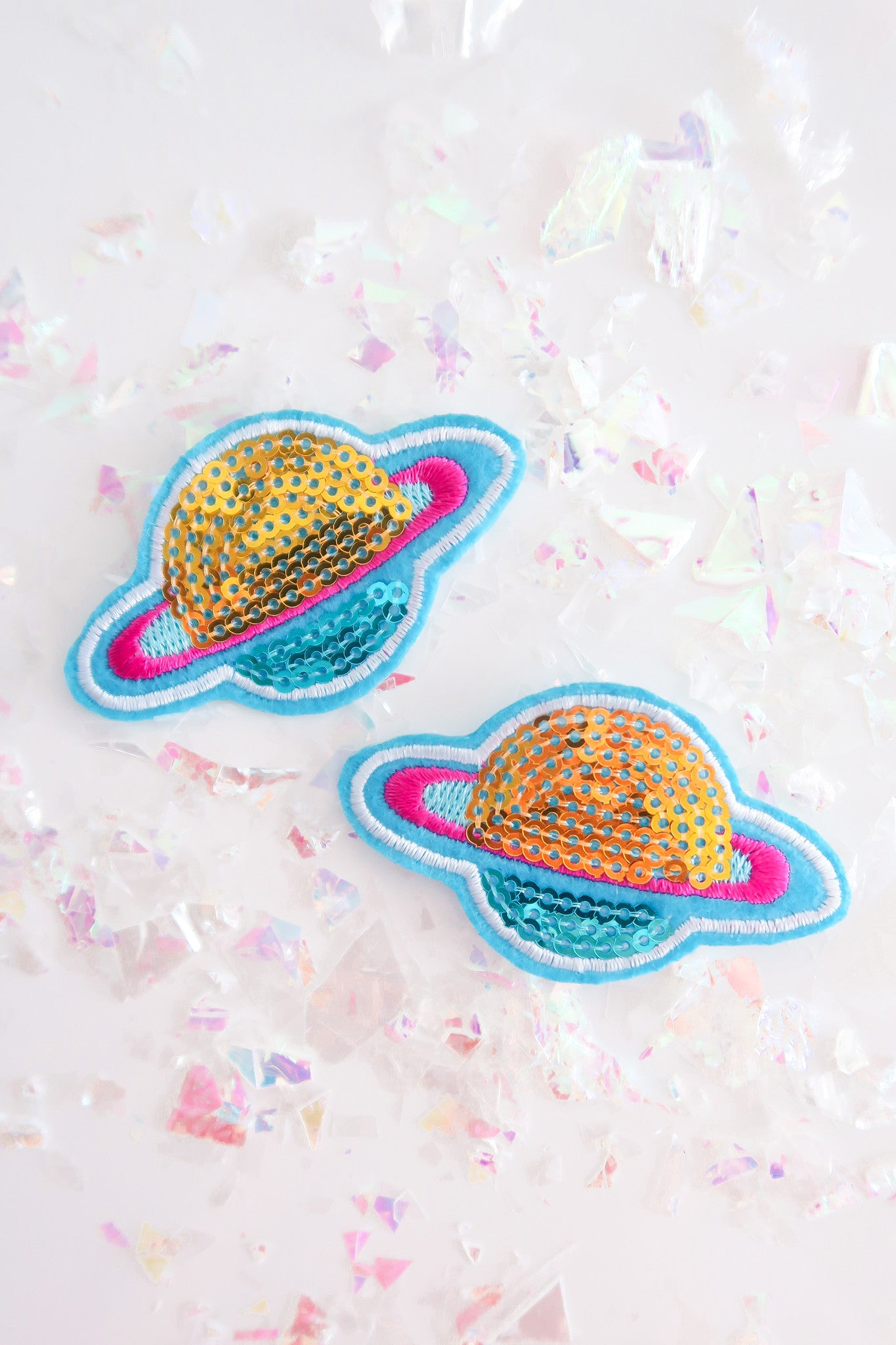 OUT OF THIS WORLD SEQUIN PATCH
