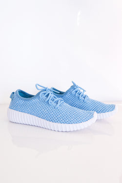 AVA SNEAKERS IN BLUE