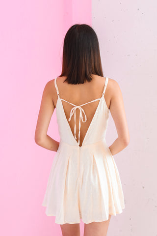 MON AMOUR IVORY ROMPER