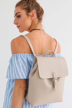 LANA BACKPACK IN BEIGE