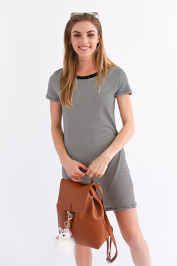 MADDIE T SHIRT DRESS